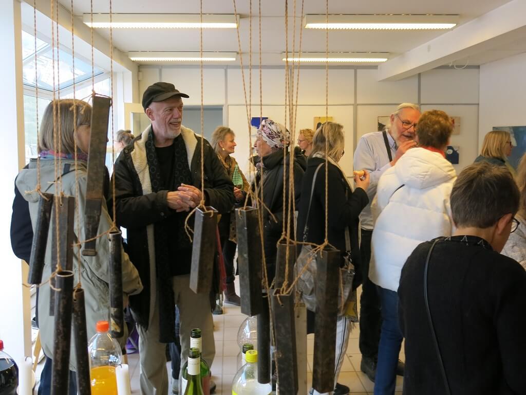 Åbning af galleriværkstedet